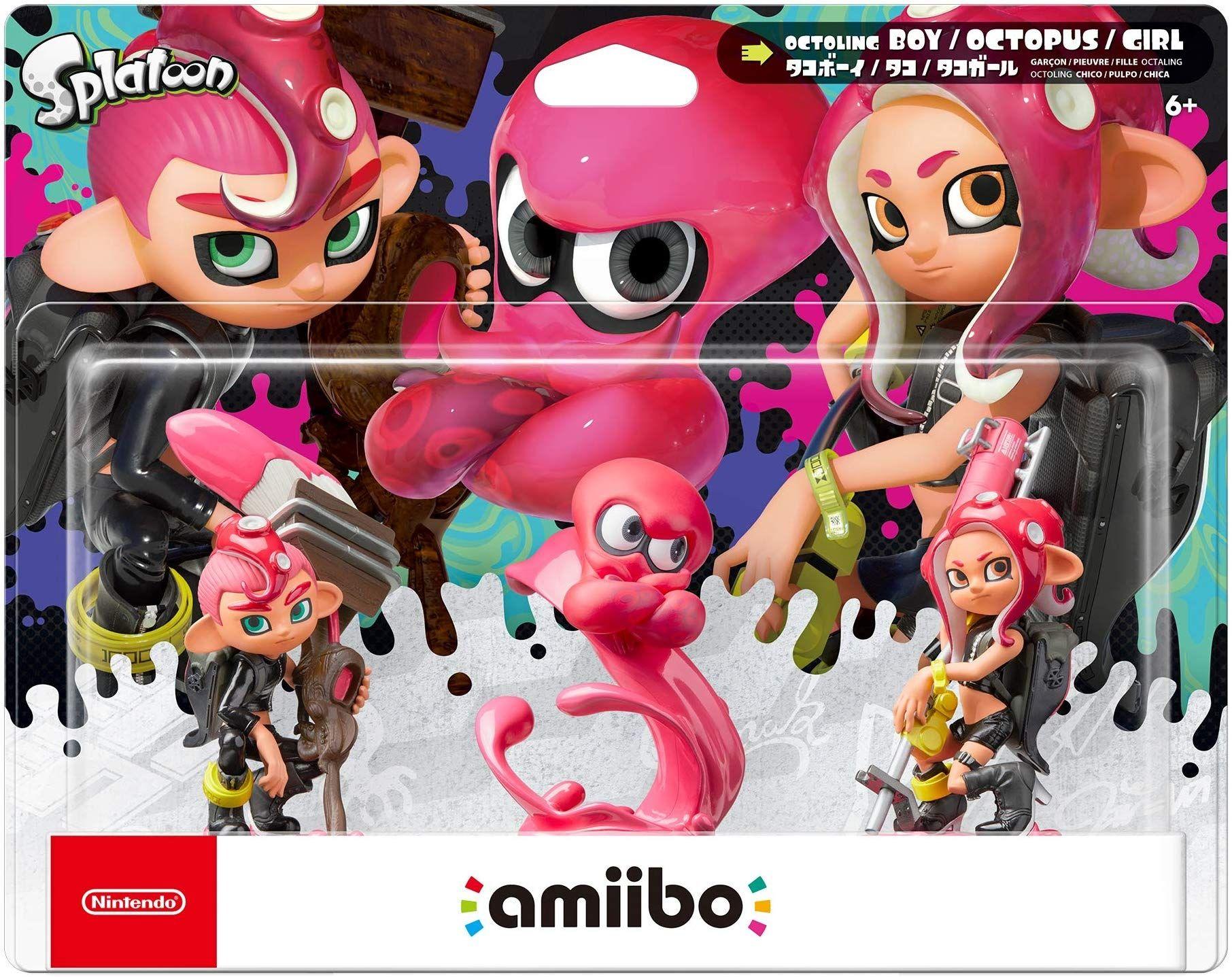 Nintendo Amiibo фигура - Octoling 3-pack [Splatoon] - 1